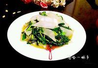 韭菜炒芥菜萵筍