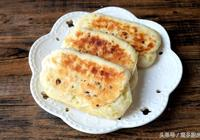 外焦裡嫩的蔥花發麵餅,孩子早餐吃了兩個,說比蛋糕麵包還香!