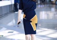 40歲陳紫函太會穿了,身穿包臀裙美成20歲少女,女人味十足!