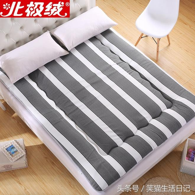 同學,降溫了,厚棉被和床墊你準備了嗎