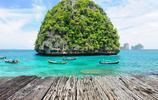 泰國美到關門的高顏值海灘,小李子在這裡演電影,太美也是種錯?