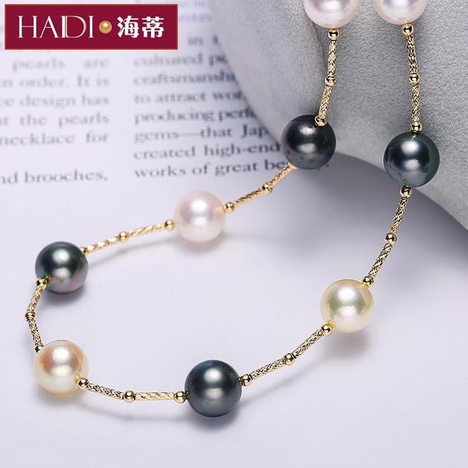 女人最不可少的首飾是珍珠,帶上優雅好看,還有養顏保健的效果呦