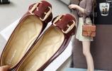 魅力四射的女生豆豆鞋搭配!