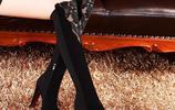 女人再窮,也要有款過膝靴,高貴優雅,美得國色天香