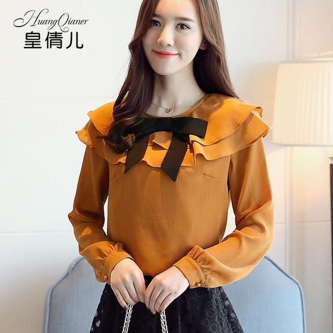 幾款別樣的秋季雪紡衫,設計獨特更新穎,你的衣櫥有沒有這樣一款