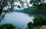 湖南大學,桃子湖的晨光!