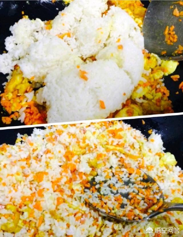 蛋炒飯,炒雞蛋,越吃越能幹。你有好吃的做法嗎?