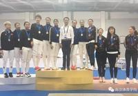 南京女子重劍隊在全運會預賽上海站奪冠