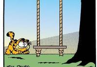 加菲貓漫畫|別哭,我的喵,童年真的回不去了