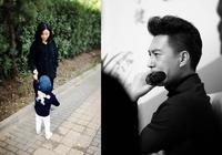 41歲靳東全家生活照,高顏值老婆二婚嫁給他,兒子顏值比靳東還高
