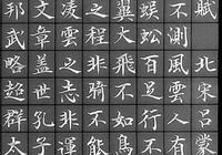 北宋宰相——呂蒙正楷書《寒窯賦》被稱為千古奇文,請欣賞
