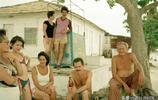 老照片  90年代的古巴