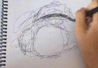 美術生又不好好畫畫,紙上全是亂糟糟的線條,剛想吐槽醜就被打臉