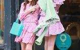 13歲蘇瑞真長大了!綠色西裝搭印花裙氣質出眾,一雙美腿更是搶鏡