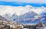 實拍歐洲海拔最高的村落,彷彿誤入西藏,雪山湖泊高原一樣不缺