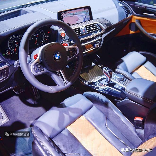 全新一代寶馬X3 M,最大馬力510匹,挑戰奔馳 GLC 63如何?