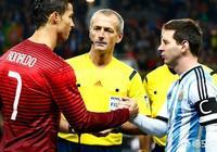 歐冠梅西C羅同時進球,巴薩四強尤文出局,今年金球獎還是梅羅之爭嗎?