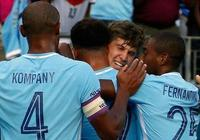 國際冠軍盃:曼城3-0熱刺,斯通斯、斯特林破門