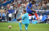 足球——友誼賽:法國勝英格蘭