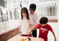 田亮女兒11歲生日,天天也驚喜現身,網友:我的CP發糖了