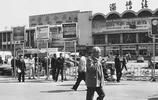 老照片:八十年代的山東淄博,潘莊大集,倒騎驢,淄博火車站