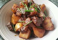 土豆燒牛肉