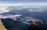 中國第一大的人工群島,面積45平方公里,填海造陸耗費了1000億