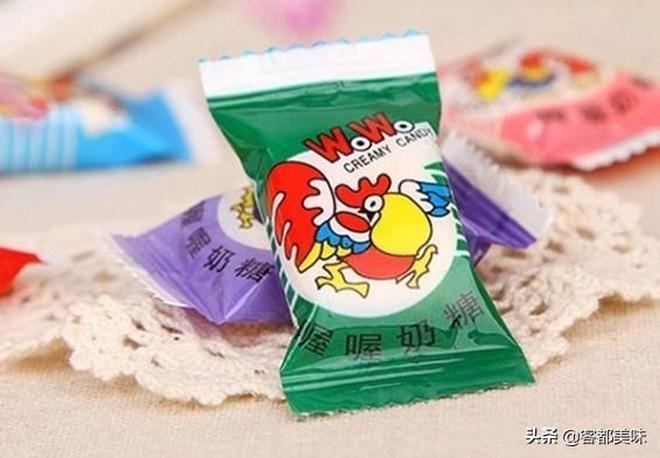 """00後估計沒吃過的""""4種糖"""",第4市面上買不到!你吃過幾種?"""