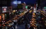 敦煌沙洲市場夜景