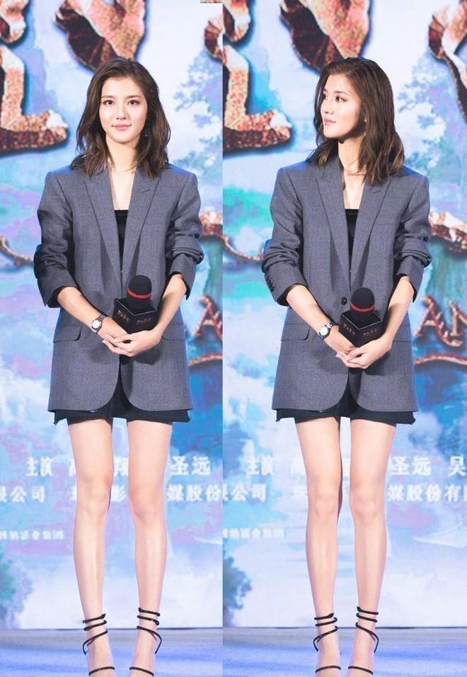 林峰前女友吳千語 告訴你,不管個子高矮,這樣穿都能擁有大長腿