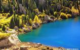 新疆特克斯草原秀麗風景