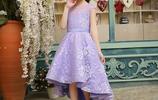 我家小女兒有自己的穿搭經,甜美公主風兒童禮服打造時尚小公主