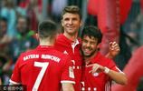 16/17德甲第32輪:拜仁慕尼黑1-0達姆施塔特 達姆施塔特提前降級