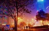 霧中的邯鄲夜色有多美,路痴的我,請你來辨認這是哪裡