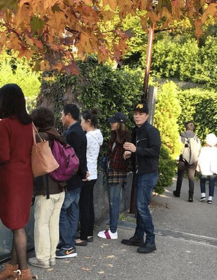 近日林心如和霍建華趁空檔到日本旅遊