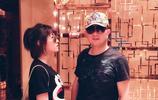 張子楓偶遇潘粵明,好久不見,張子楓個頭又長高了不少