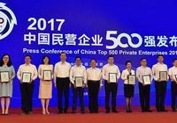 菏澤3家企業入圍2017中國民企500強