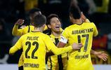 足球——德甲聯賽:多特蒙德勝漢堡