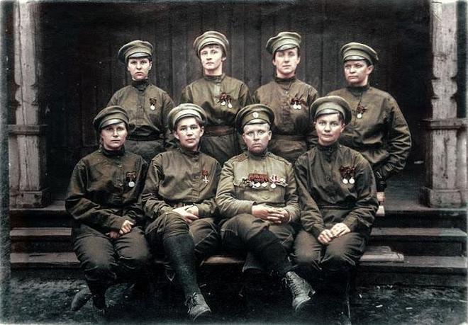 彩色一戰——第一次世界大戰中的俄軍