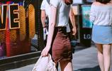 屬於夏天的美女穿搭,在日常穿衣搭配中,既顯高又顯瘦的穿衣技巧
