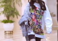 楊冪與Jennie撞搭配風格,同穿健美短褲,不是腿細就能贏!