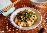 初春薺菜二 |薺菜燒豆腐
