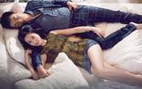 朱亞文與妻子沈佳妮一同拍攝寫真,大秀恩愛,沈佳妮魔鬼身材好搶鏡