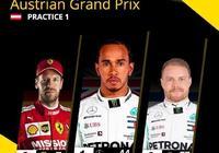 奧地利大獎賽FP1:漢密爾頓最快,霍肯伯格折斷鼻翼