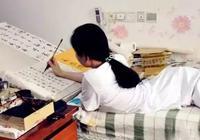 中書協會員劉曉清,5歲車禍,不能站不能坐只能臥,學書法20多年