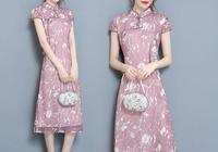 """新款""""改良""""旗袍裙,比碎花連衣裙洋氣,比雪紡裙還顯膚白,超美"""