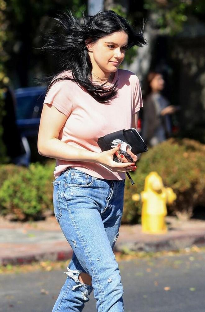 女星阿芮爾·溫特現身西好萊塢,她給人的感覺總是那麼可愛