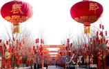 大紅燈籠高高掛 扮靚北京迎新春