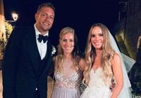 大衛-李與網球球星沃茲尼亞奇在意大利舉行婚禮