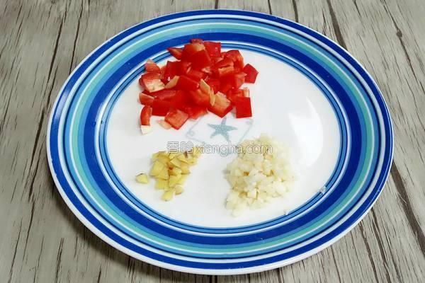 鮮豌豆豬肉粒